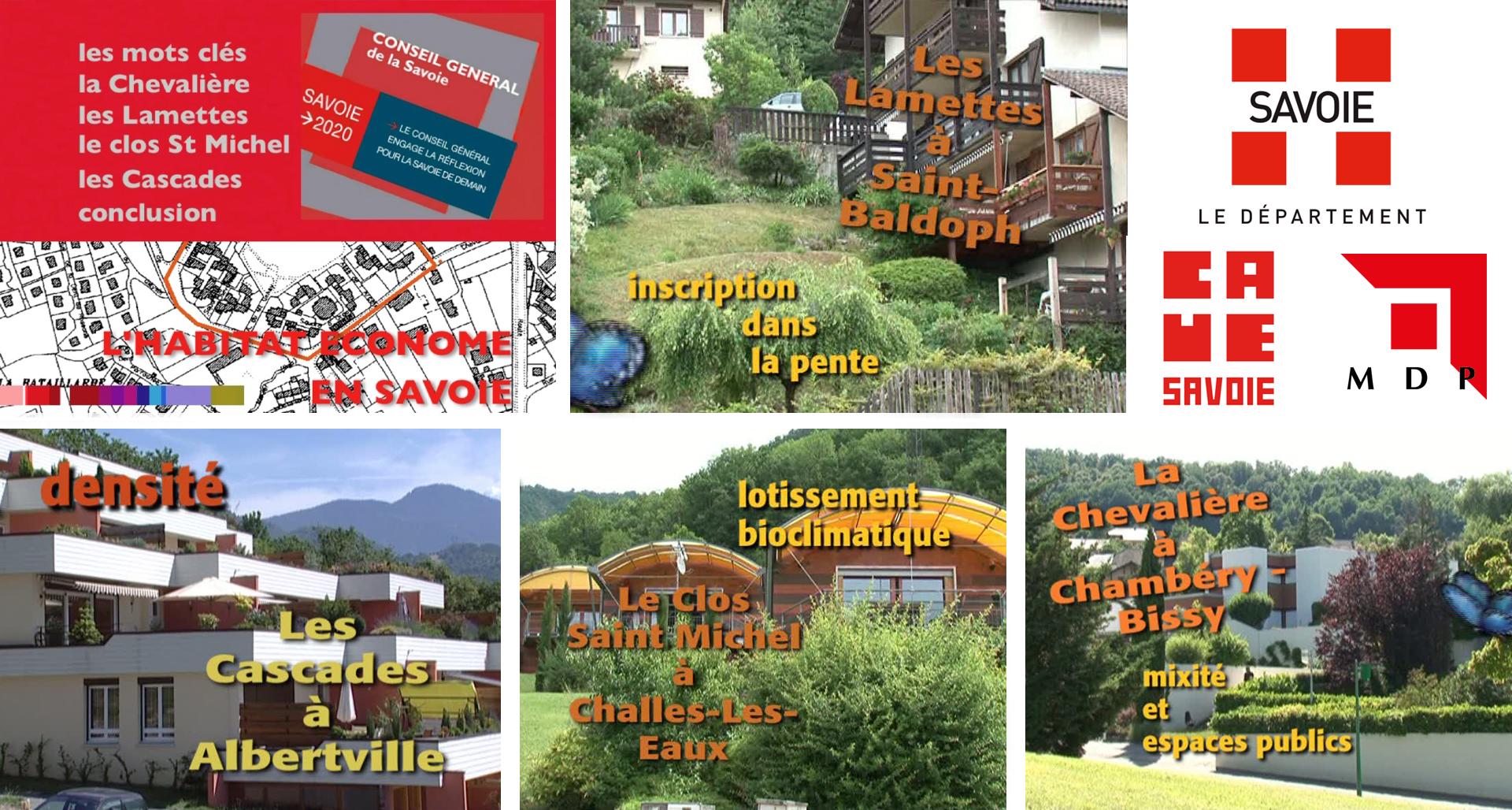 L'habitat économe en Savoie