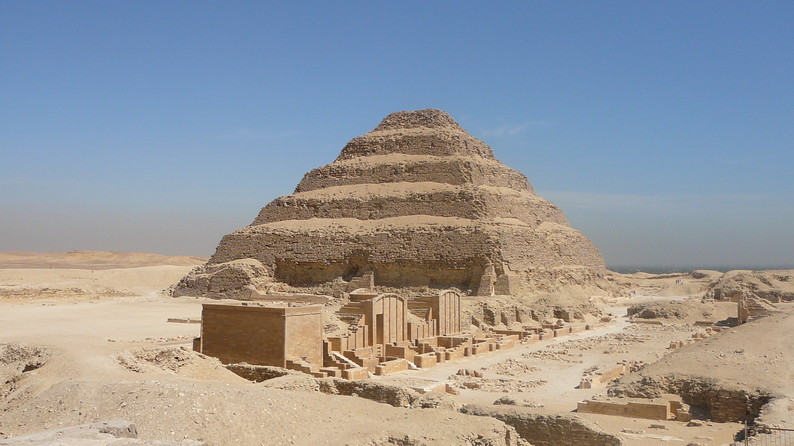 La pyramide du roi Djoser à Saqqarah