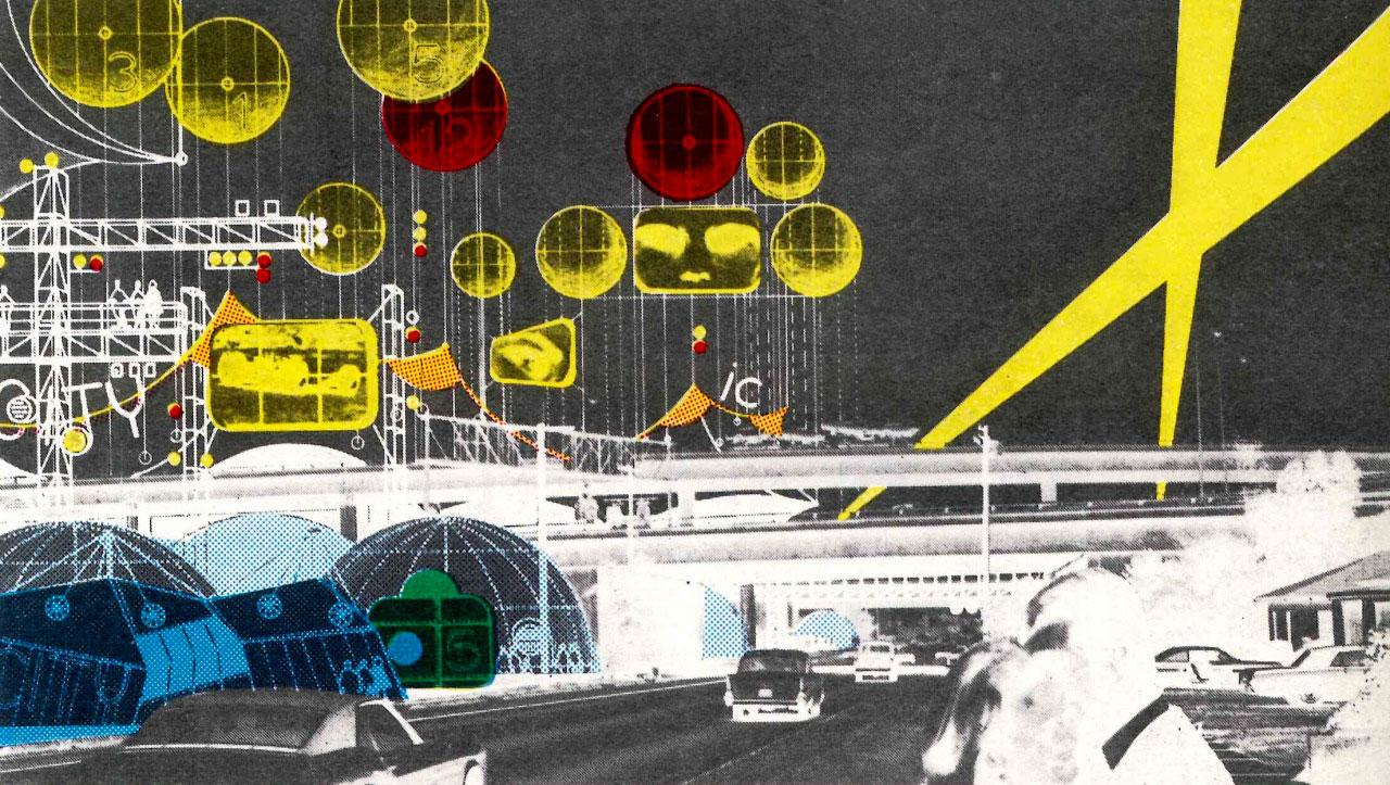 Architectes parallèles, Instant city – Peter Cook