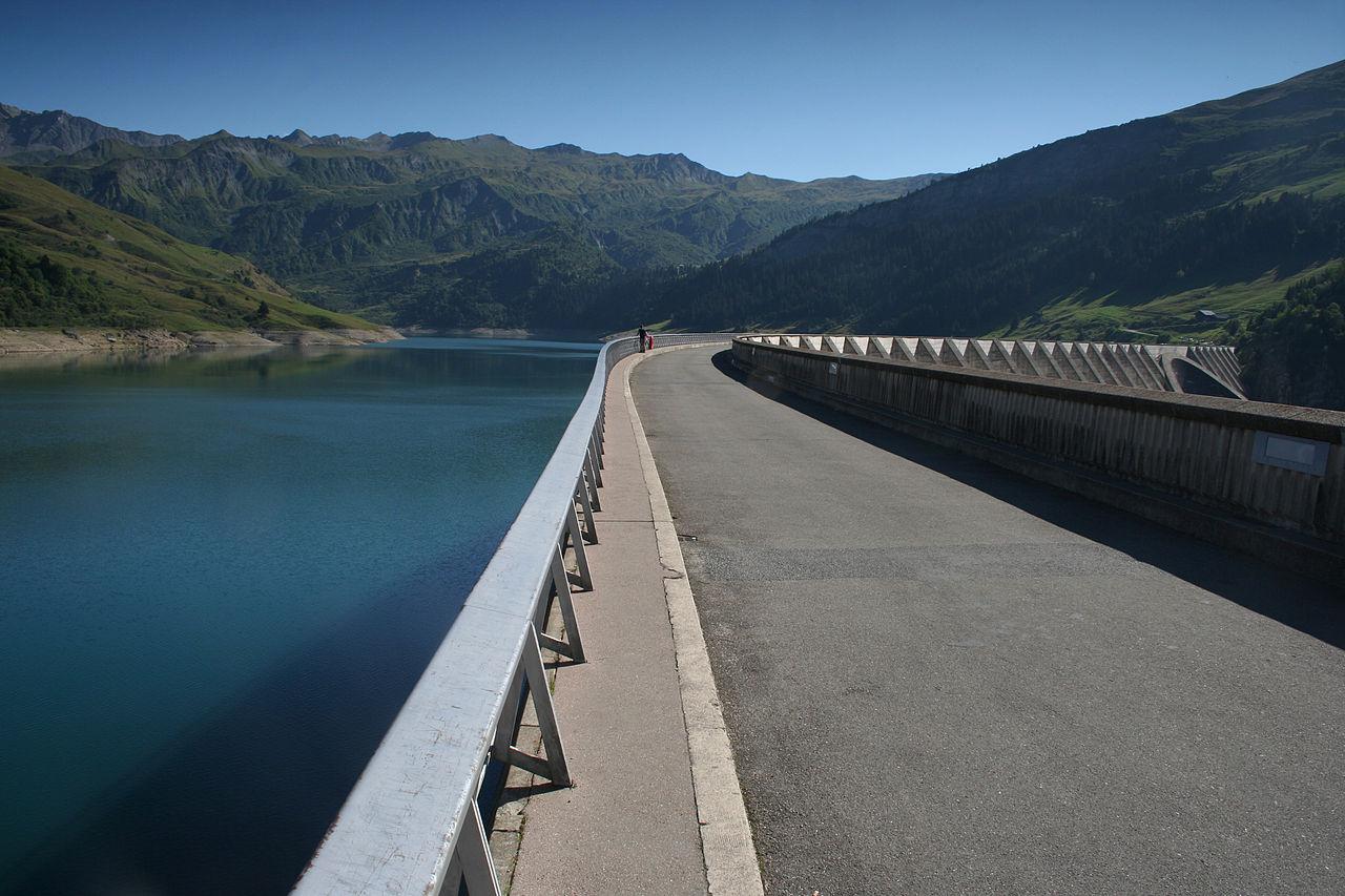 Au cœur de la Savoie, Roselend
