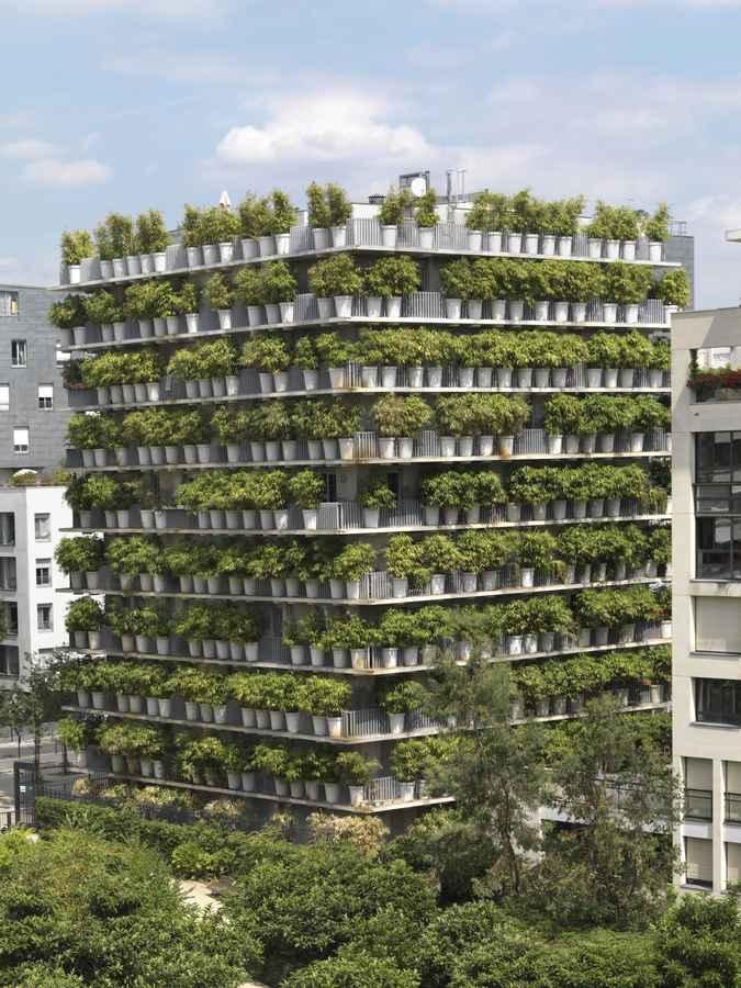 Flower Tower (Paris Architecture)
