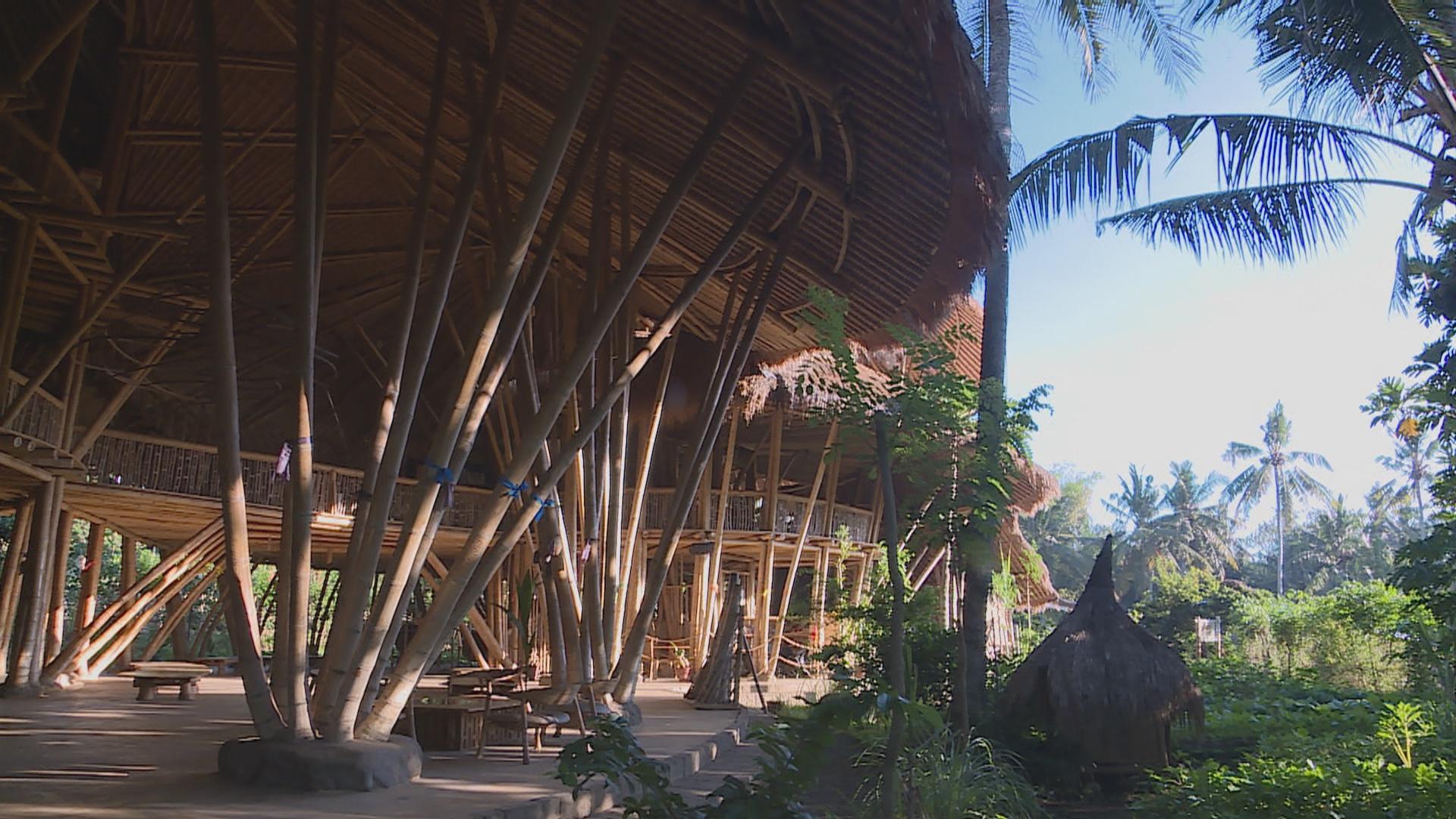 L'école en bambou