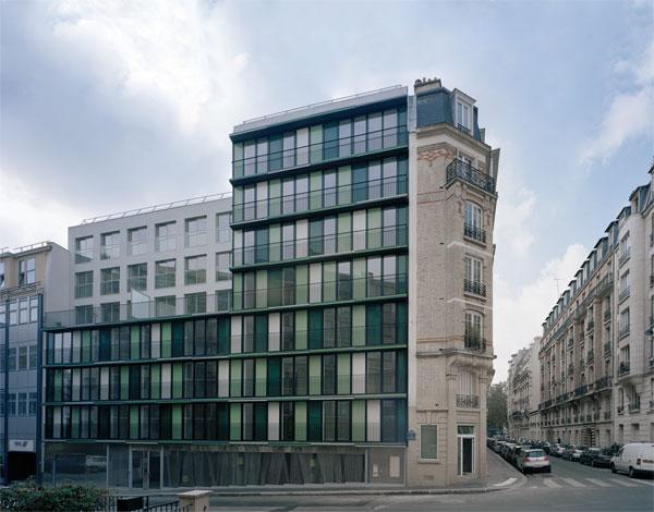 Résidence de 63 logements (Paris Architecture)
