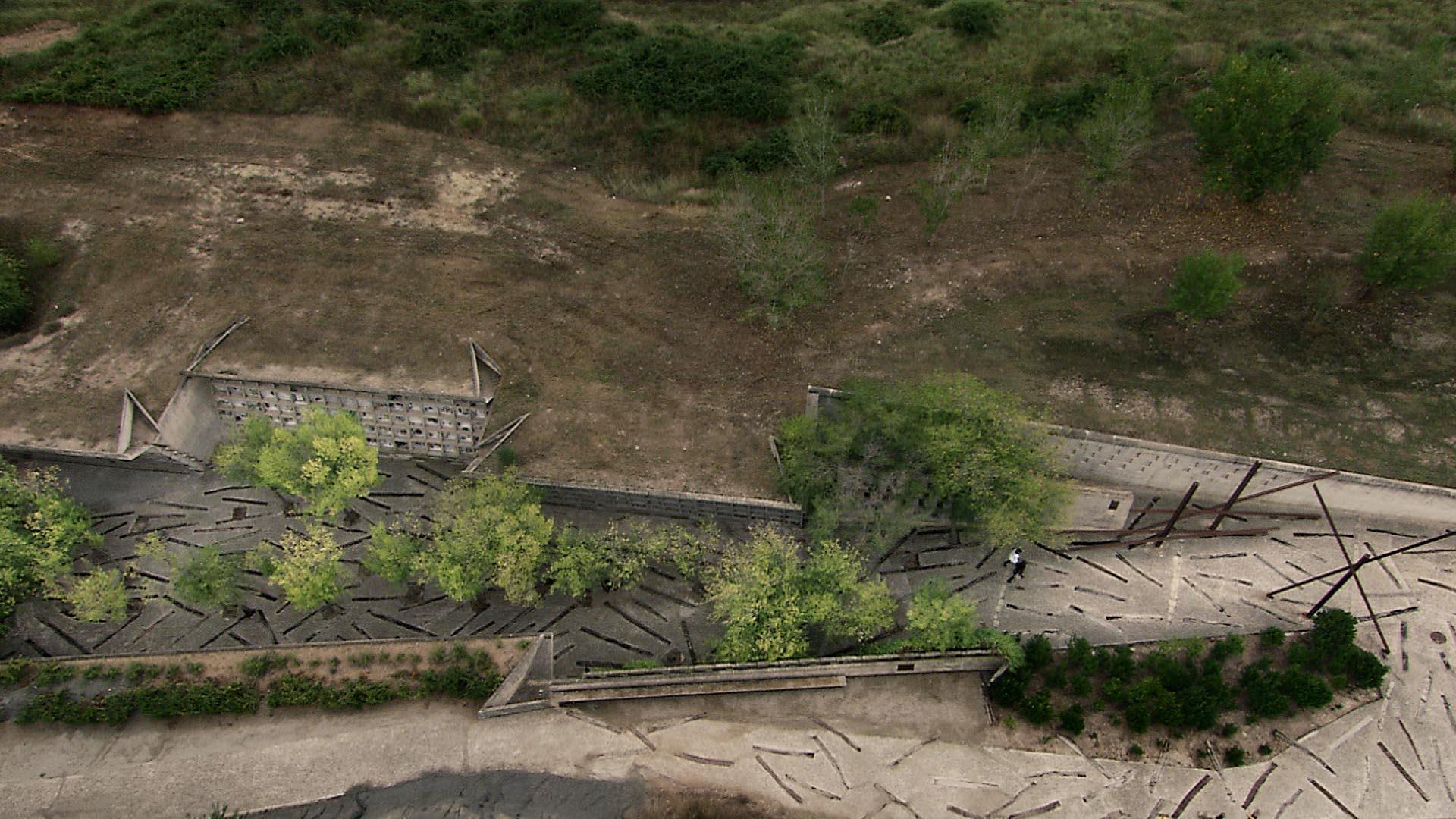 Le cimetière d'Igualada