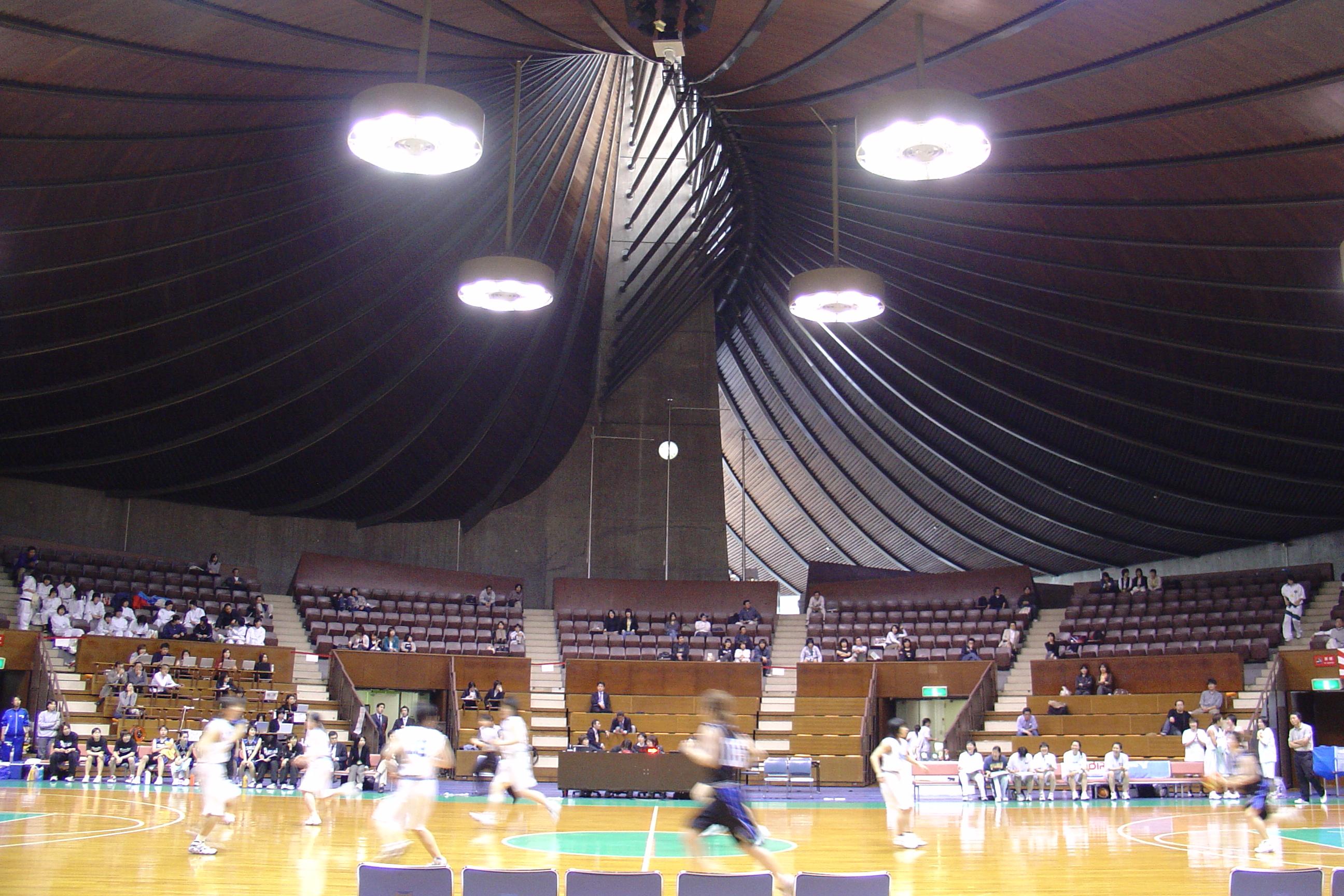Les Gymnases olympiques de Yoyogi
