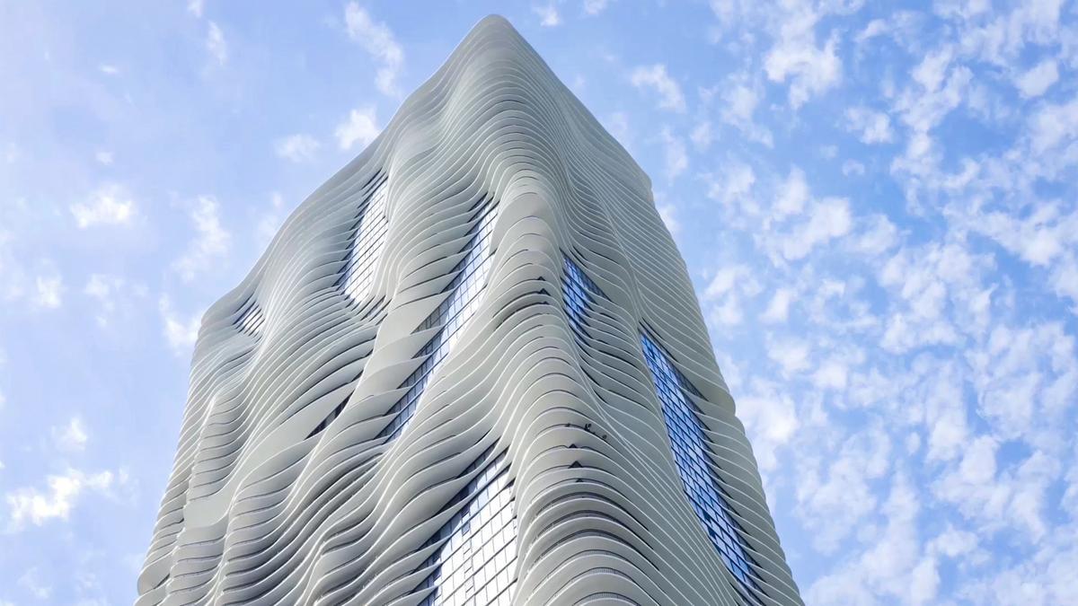 Studio Gang architectes : Aqua Tower