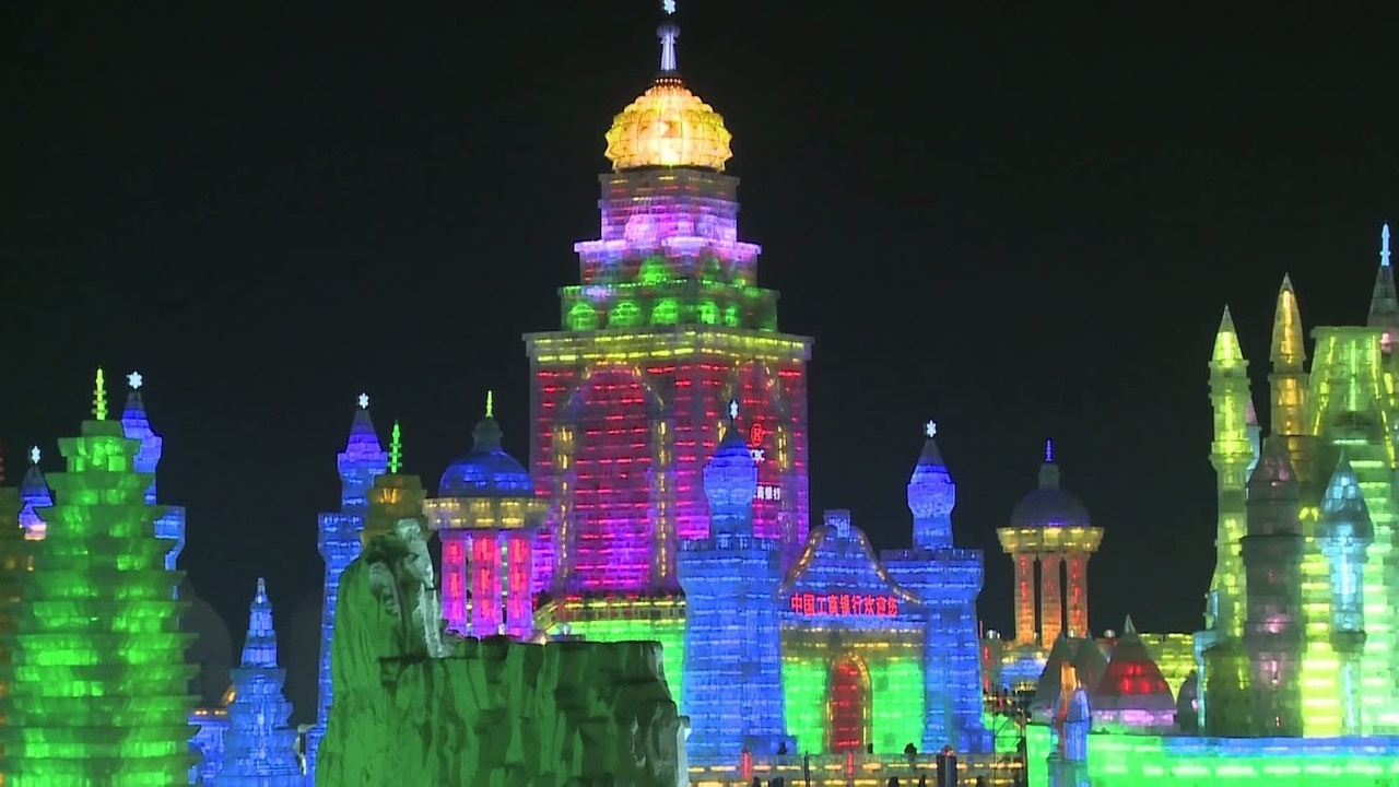 Harbin et les magiciens de la glace