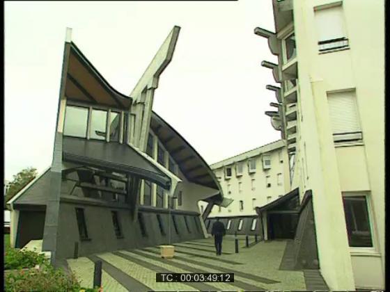 Une caserne de CRS à Vélizy