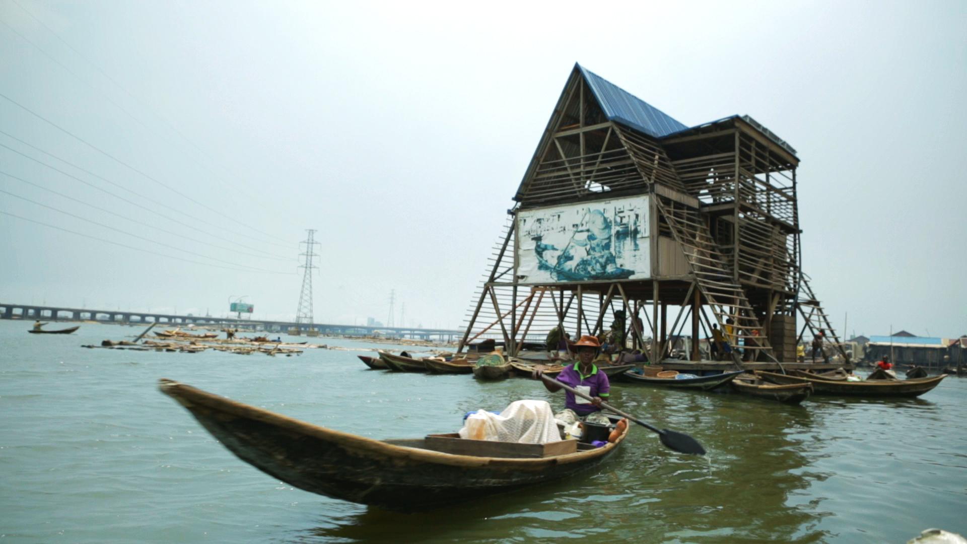 Ecole flottante de Makoko